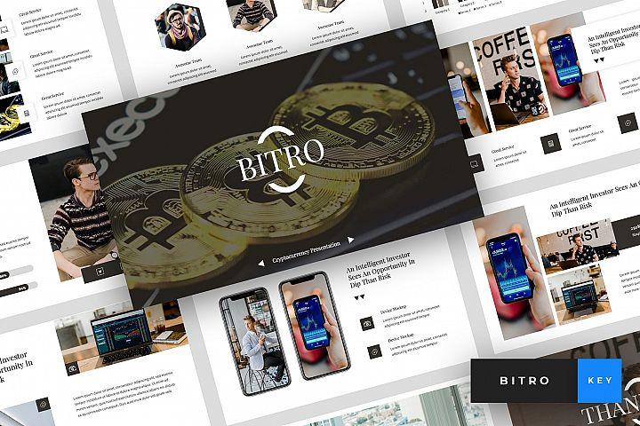 Bitro - Criptocurrency Keynote Template
