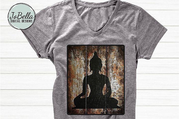 Buddha Sublimation Design