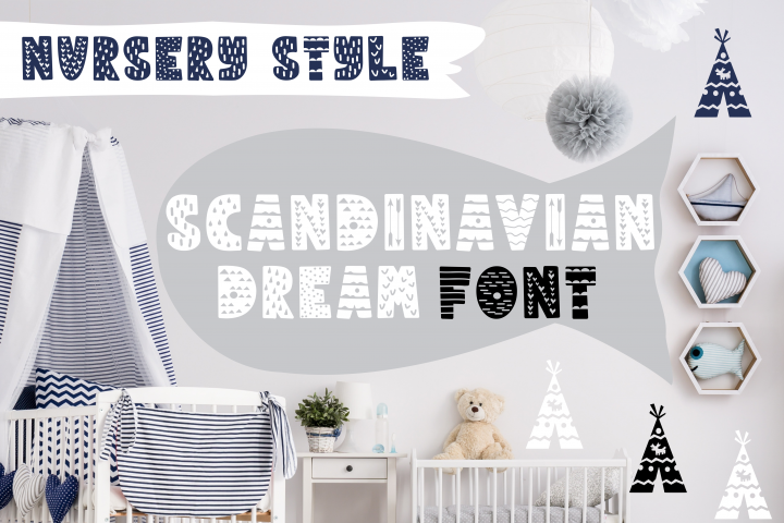 SCANDINAVIAN DREAM FONT