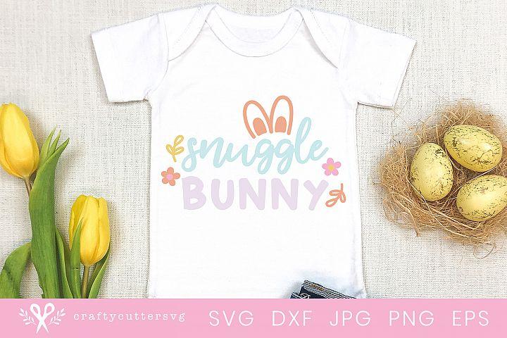 Snuggle Bunny Svg Cute Boys or Girls T-Shirt Cut File