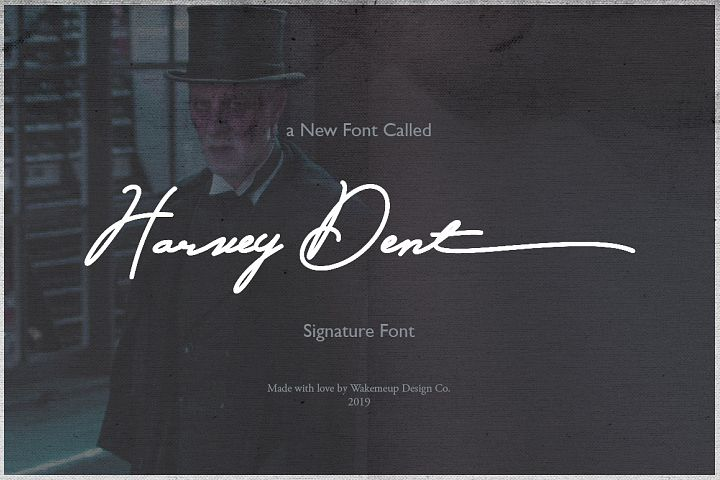 Harvey Dent Signature