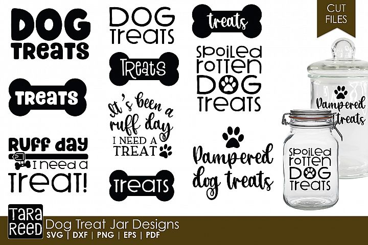 Dog Treat Jar Designs