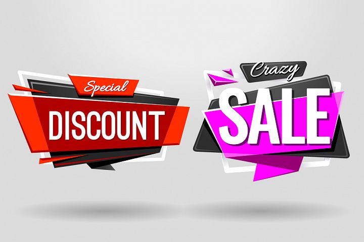 SALE BANNERS | Material Design - Free Design of The Week Design 3