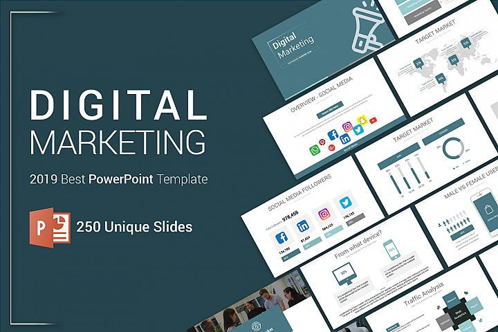 Best Digital Marketing PowerPoint Template