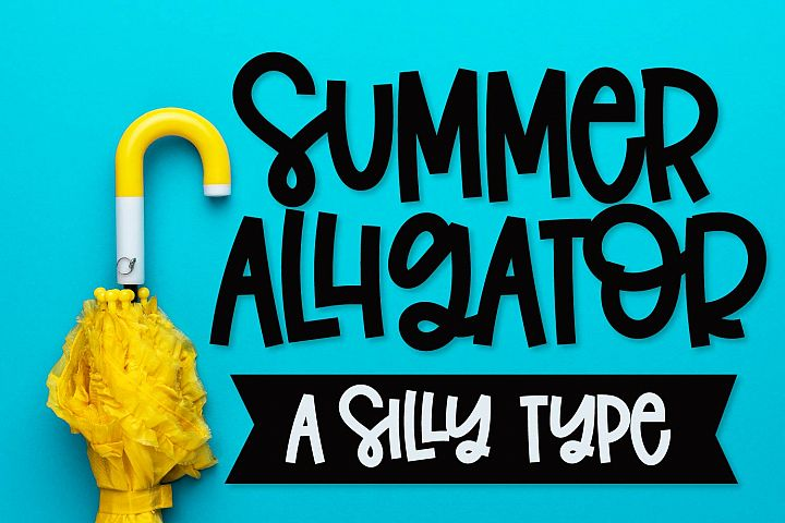 Summer Alligator - A Clean Craft Friendly Type!