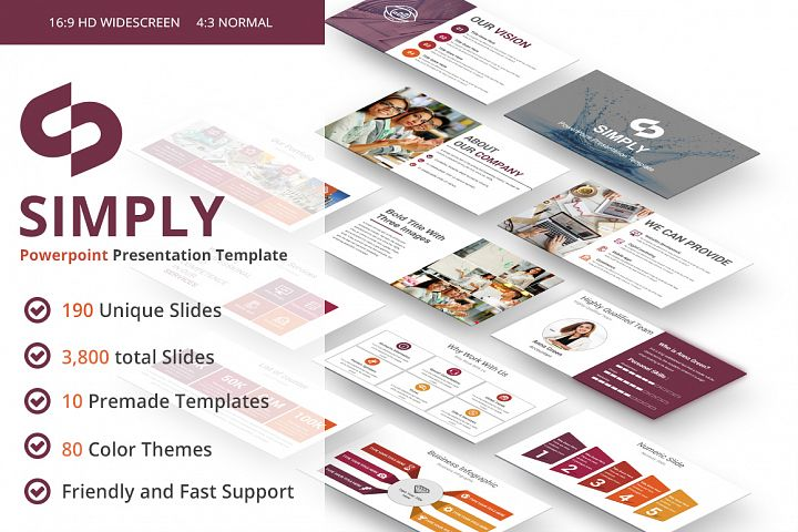 Simply multipurpose PowerPoint Presentation Template
