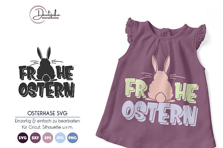 Osterhase SVG | Frohe Ostern