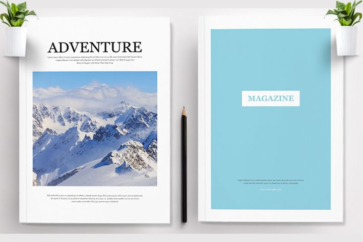 Adventure Magazine Template