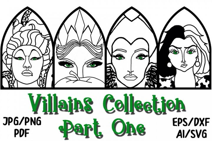 The Villains Collection Pt1 from QCUK