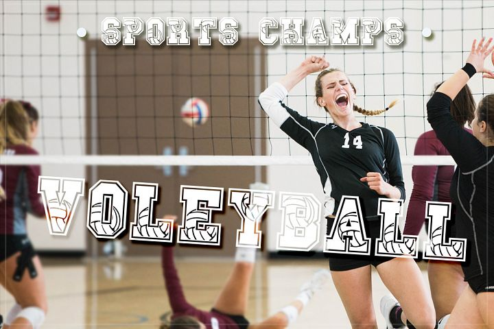 Sport Champs Volleyball Font