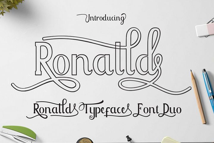 Ronalld Font Duo