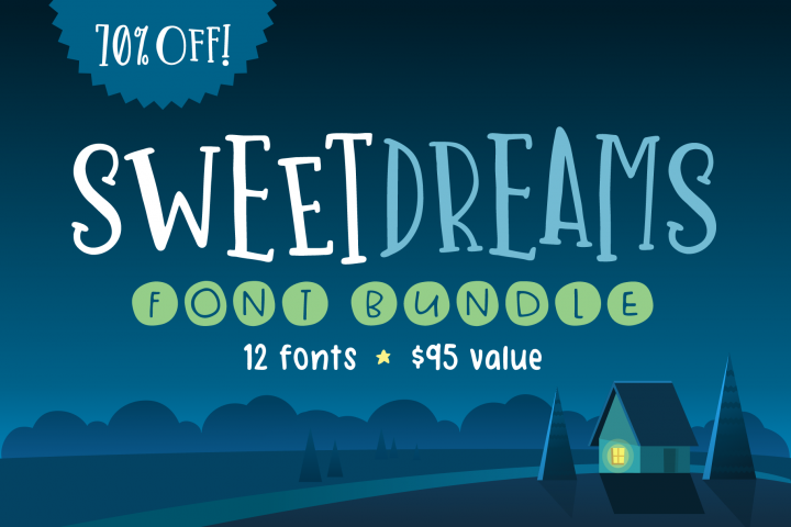 Sweet Dreams Font Bundle