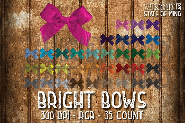 Bright Bows Sublimation Graphics