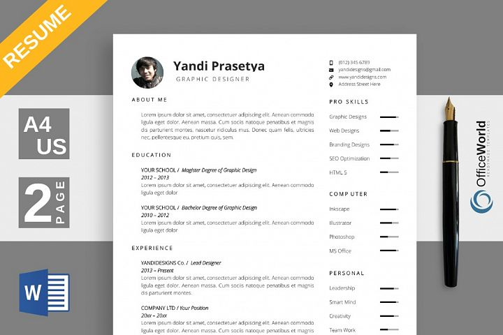 Spacious Resume / CV