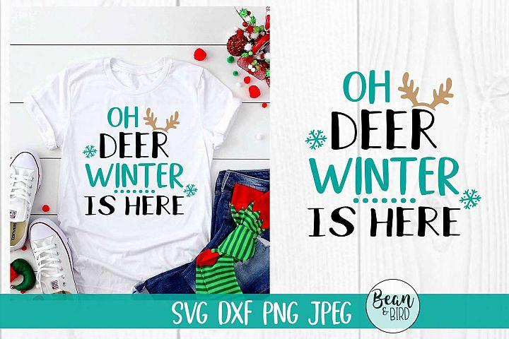 Oh Deer Winter is here