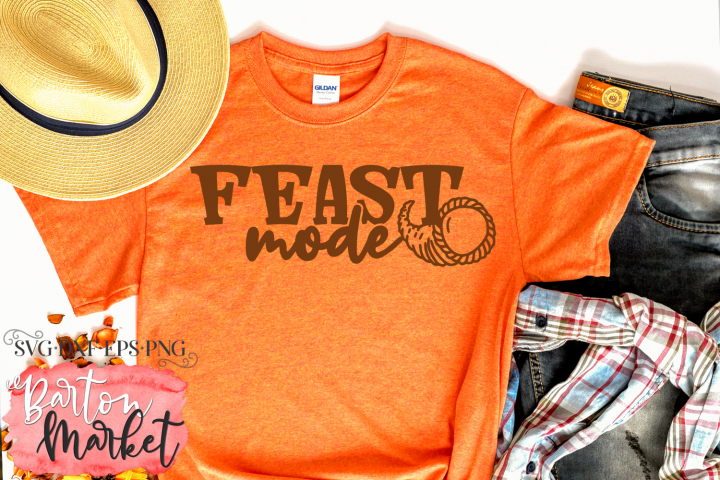 Feast Mode SVG DXF EPS PNG