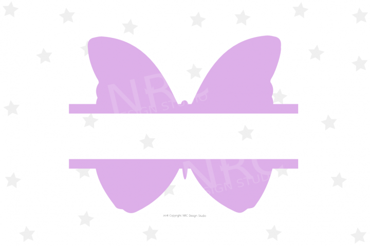 Butterfly Frame SVG File
