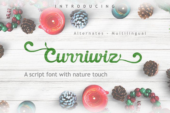 Curriwiz Font
