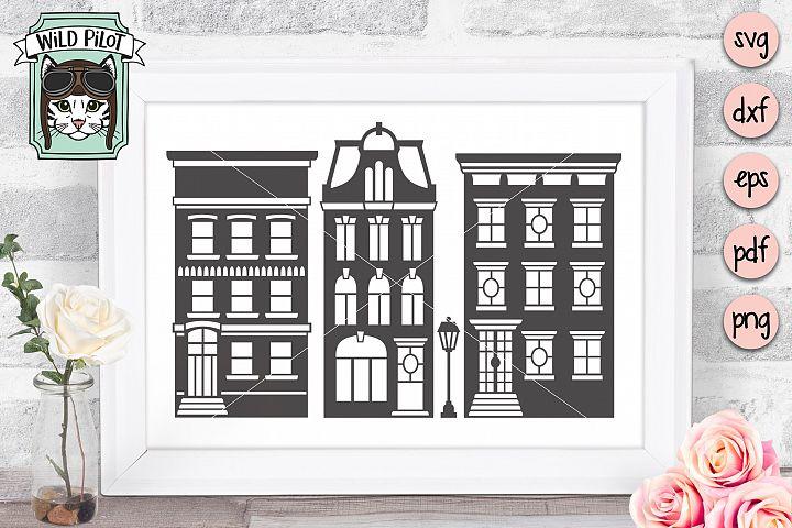 House SVG, Home SVG, Apartment Building SVG clipart