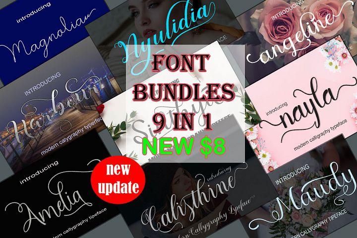 New Font Bundles update