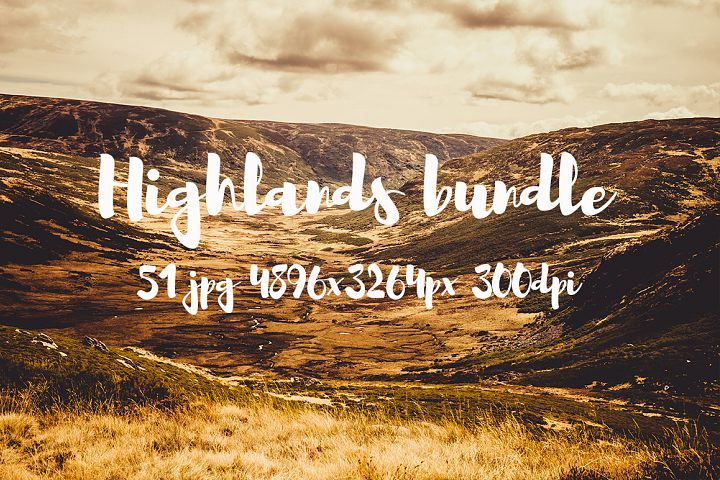 Highlands photo pack