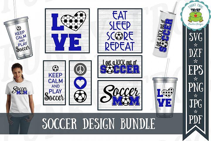 Soccer Design Bundle SVG Cut Files for Crafters