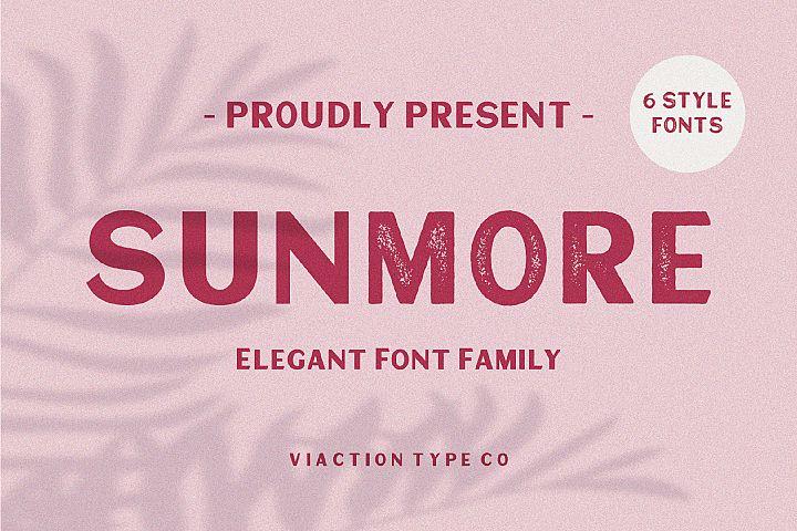 Sunmore - Elegant Font