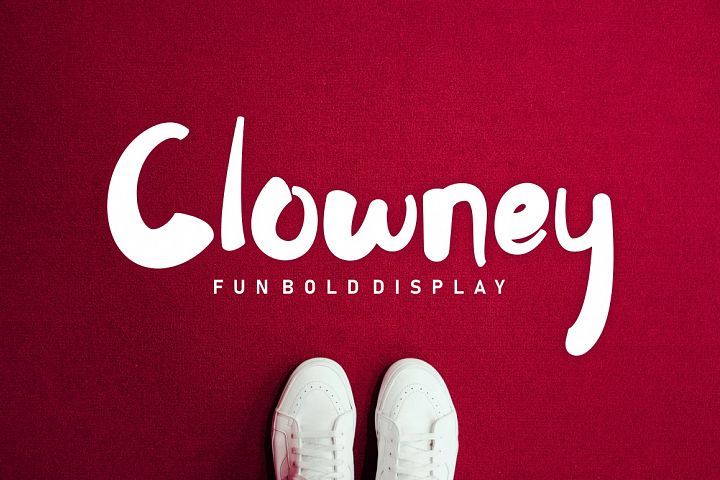 Clowney - Fun Bold Display
