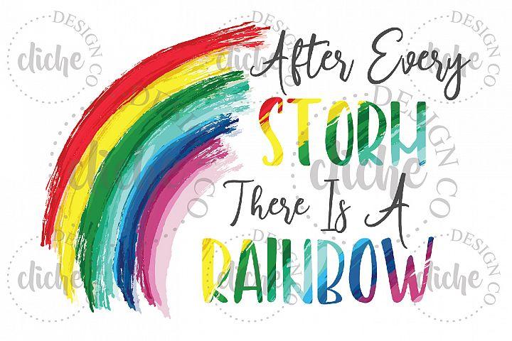 Rainbow Sublimation Design