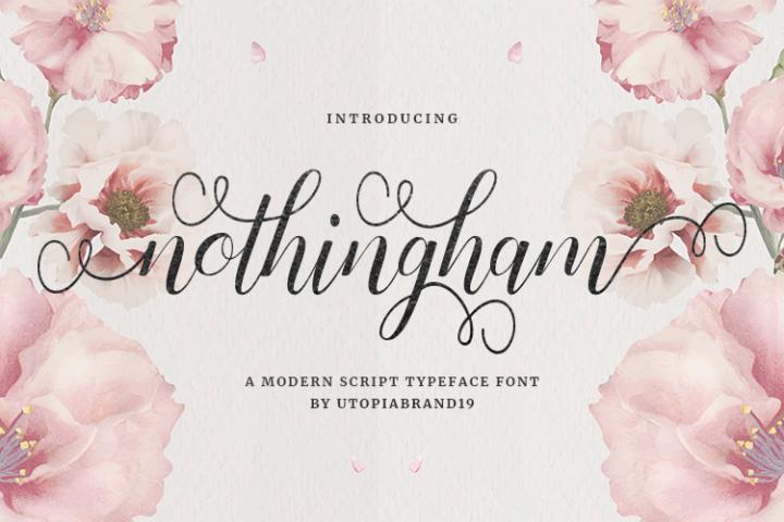 Nothingham Script