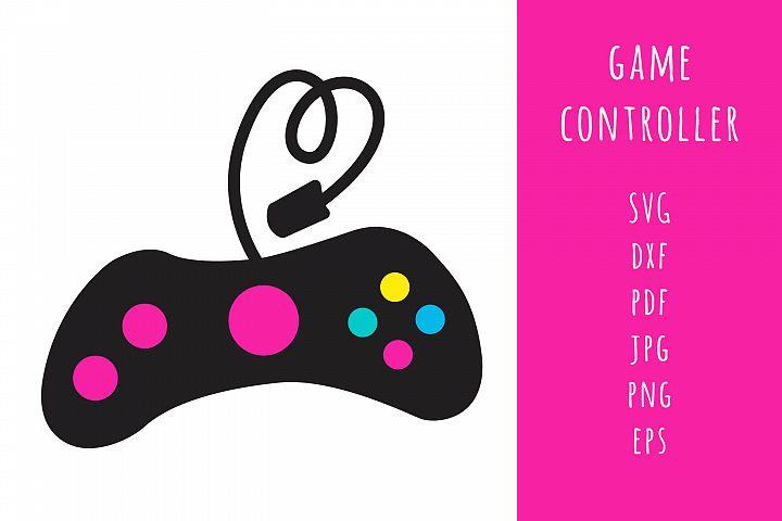 Game Controller SVG cut file, Cutting files, Gamer cut file