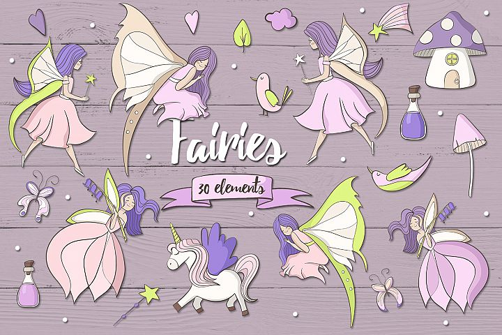 Fairies - Free Design of The Week Font