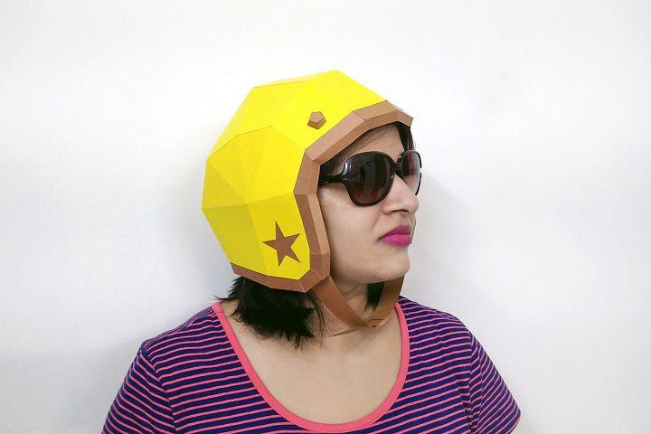 DIY Vintage Helmet - 3d papercrafts