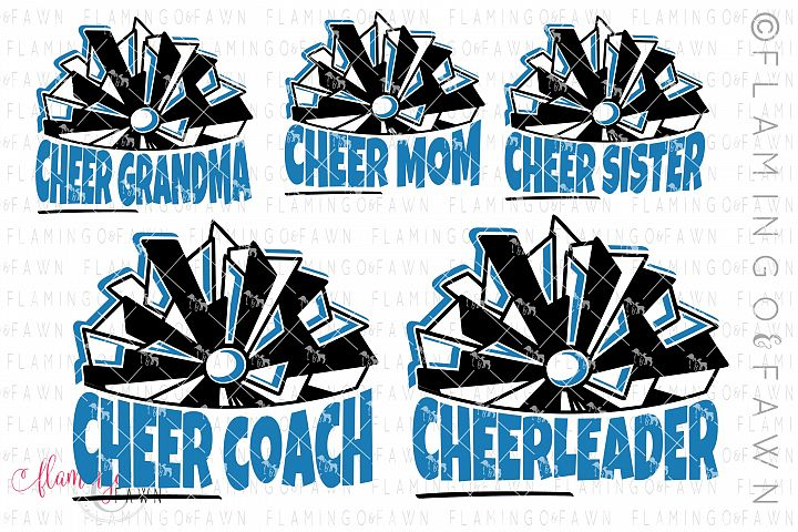 Cheer family svg bundle cutting files