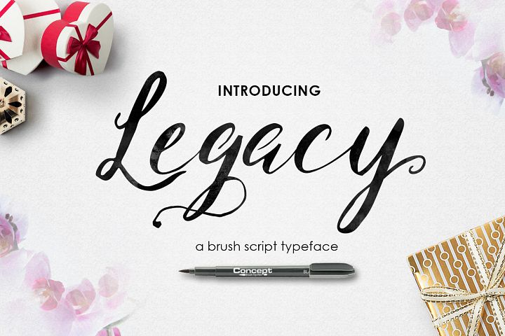 [CLOSING SALE] Legacy Brush Script