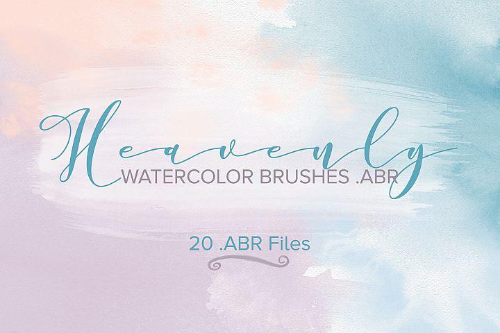 Watercolor Brushes, Photoshop Brushes