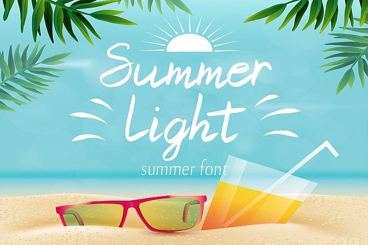 Summer Light Font