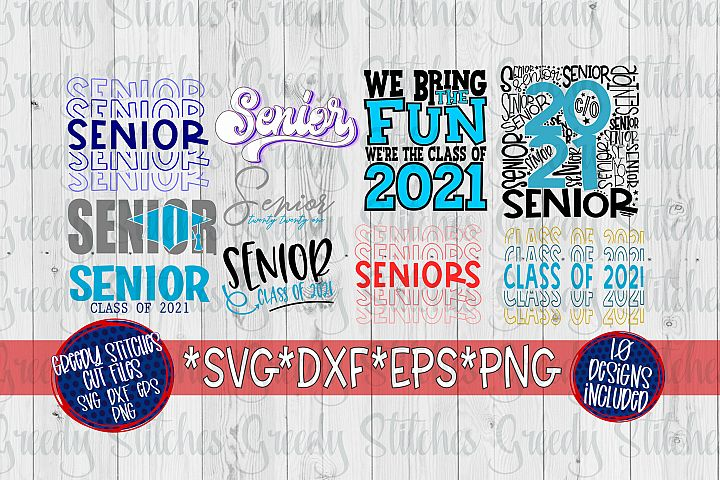 Class of 2021 SVG Bundle | SVG DXF EPS PNG