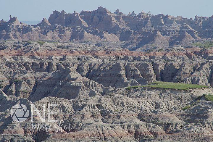 Badlands National Park South Dakota Canyons Red Rock