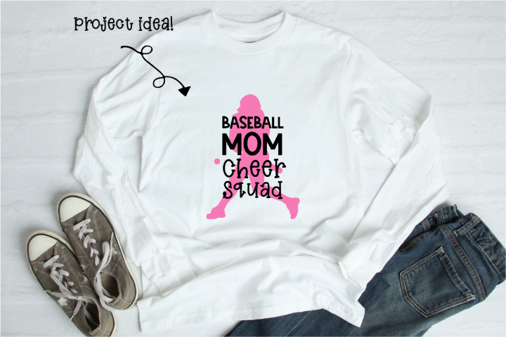Baseball Mom Cheer Squad - Digital Design