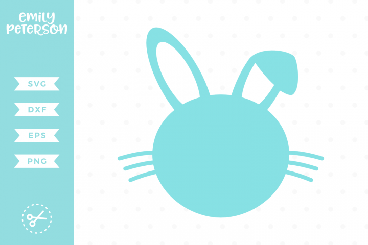 Bunny Silhouette SVG DXF EPS PNG