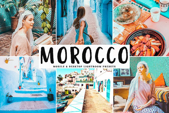 Morocco Mobile & Desktop Lightroom Presets