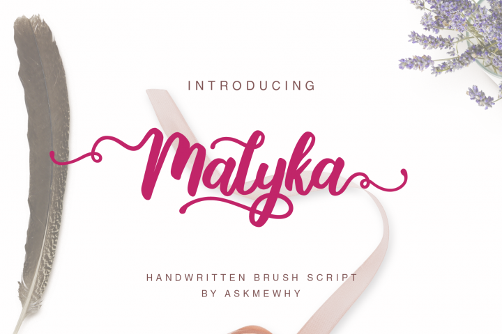Malyka - Handwritten Script