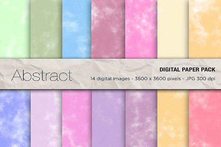 Abstract Background, Abstract Space Digital Papers
