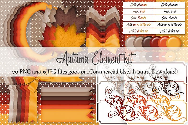 Autumn Element Kit