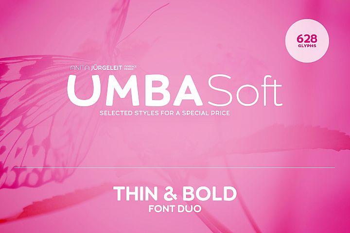 Umba Soft Thin & Bold