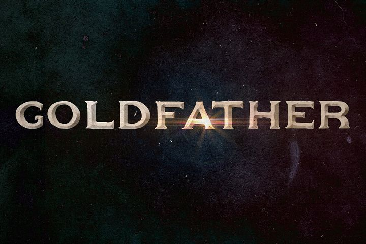 Goldfather Typeface