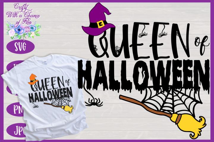 Halloween SVG | Witch SVG | Queen of Halloween SVG