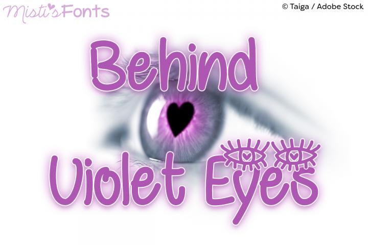 Behind Violet Eyes example image 1