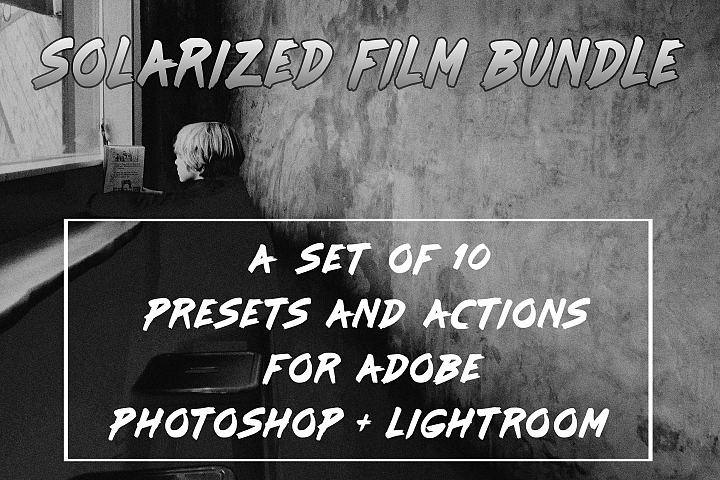 Solarized Film Lightroom Presets and Photoshop Actions Set